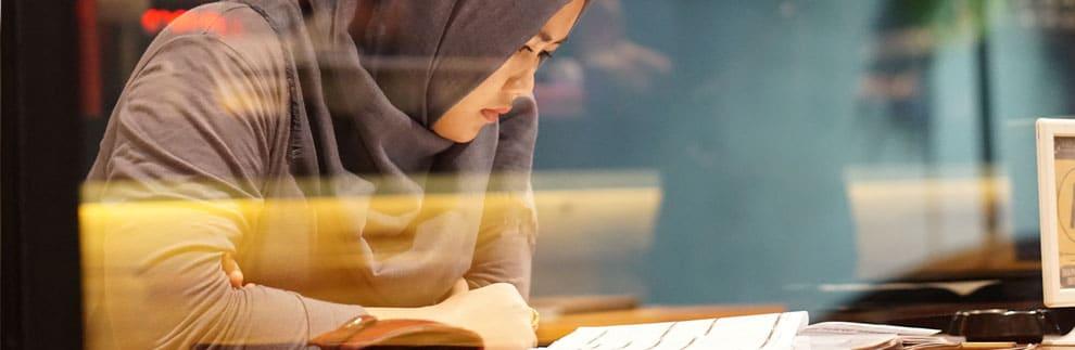 Marokkaanse student