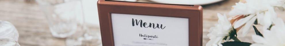 21 diner menu en recept