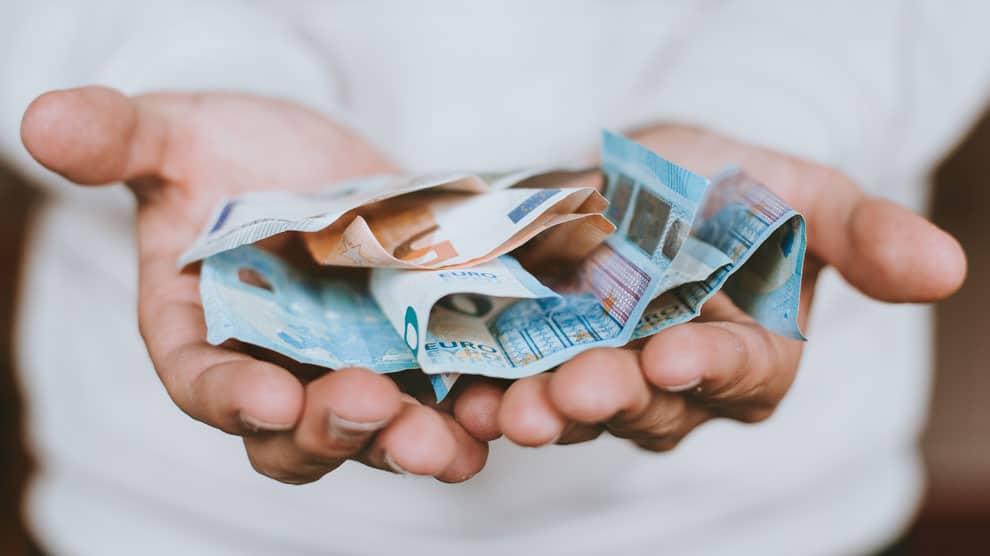 aanbieden geld