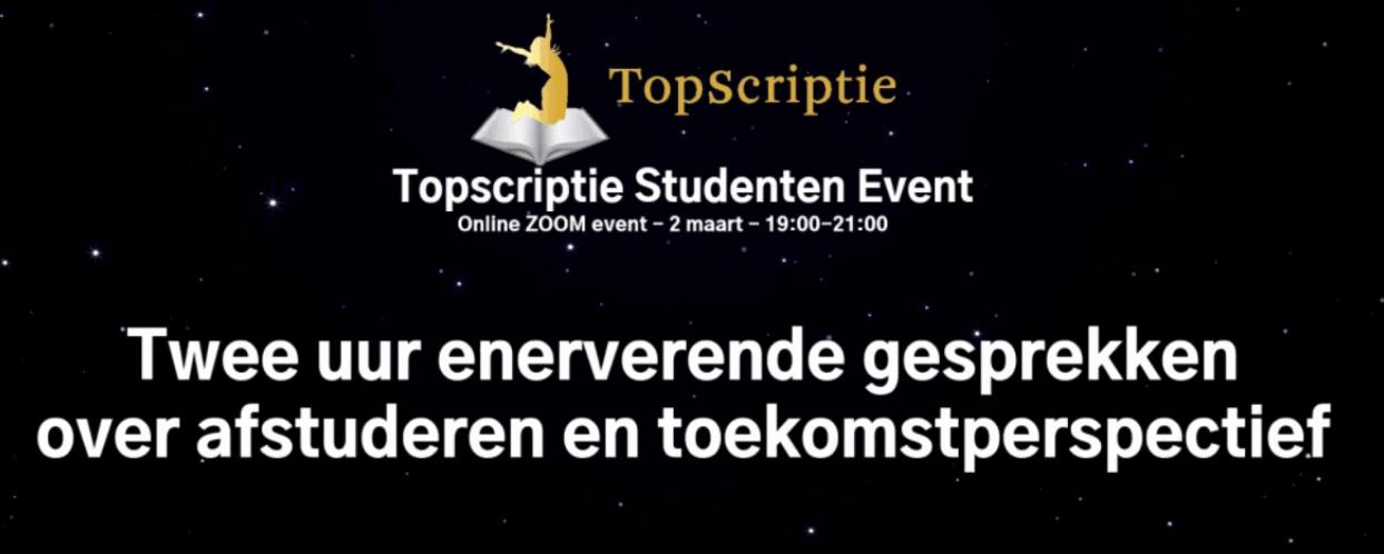 topscriptie event