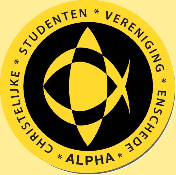 Logo Christelijke Studenten Vereniging 'Alpha'